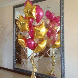 Фонтан 1 из воздушных шаров