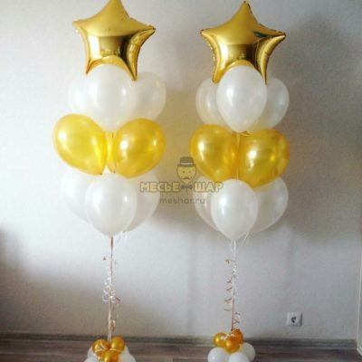 Фонтан 14 из воздушных шаров