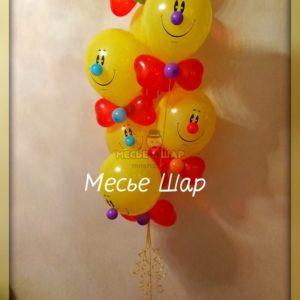 Фонтан 17 из воздушных шаров
