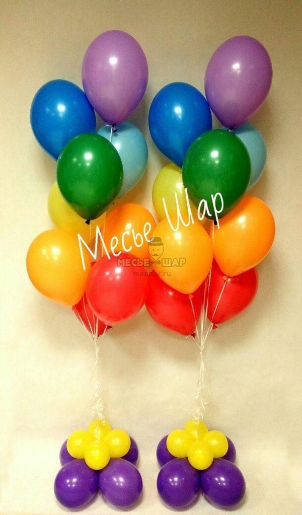 Фонтан 2 из воздушных шаров