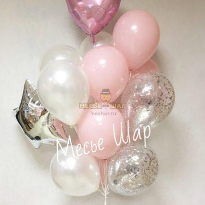 Фонтан 20 из воздушных шаров