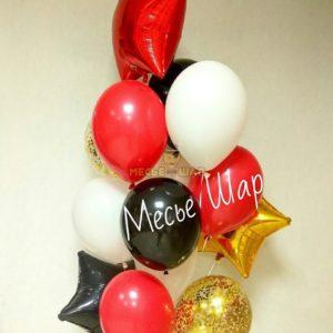 Фонтан 21 из воздушных шаров