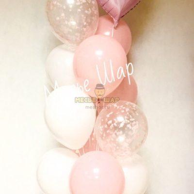 Фонтан 24 из воздушных шаров