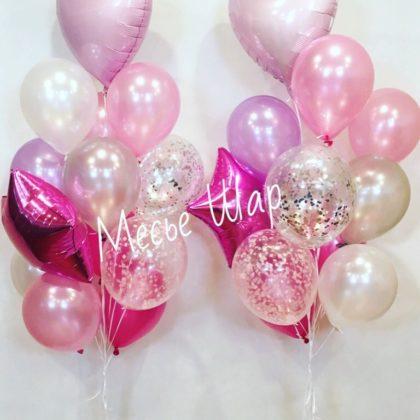 Фонтан 25 из воздушных шаров