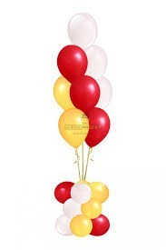 Фонтан 3 из воздушных шаров