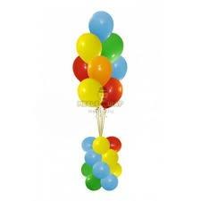 Фонтан 4 из воздушных шаров
