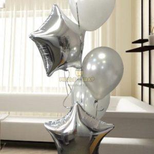 Фонтан 6 из воздушных шаров