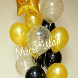 Фонтан 7 из воздушных шаров