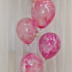Фонтан с шарами ручной работы #2