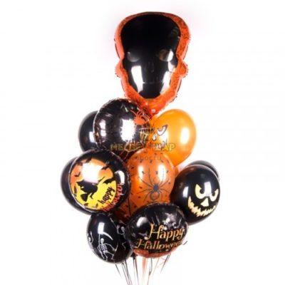 Хеллоуин - облако из шаров