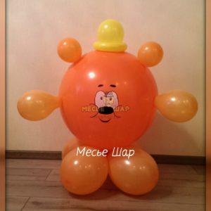 Копатыч из шаров детям