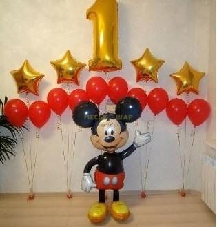 Набор #11 из шаров на детский День рождения