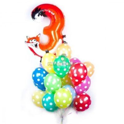 Набор #14 из шаров на детский День рождения