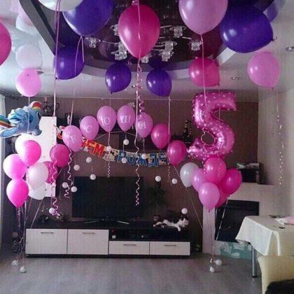 Набор #20 из шаров на детский День рождения