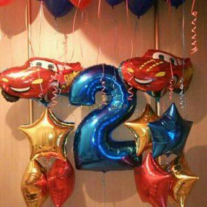 Набор #21 из шаров на детский День рождения