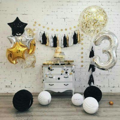 Набор #23 из шаров на детский День рождения