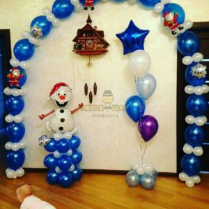 Набор #24 из шаров на детский День рождения