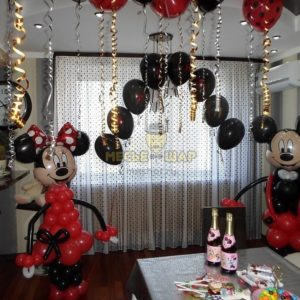 Набор #26 из шаров на детский День рождения