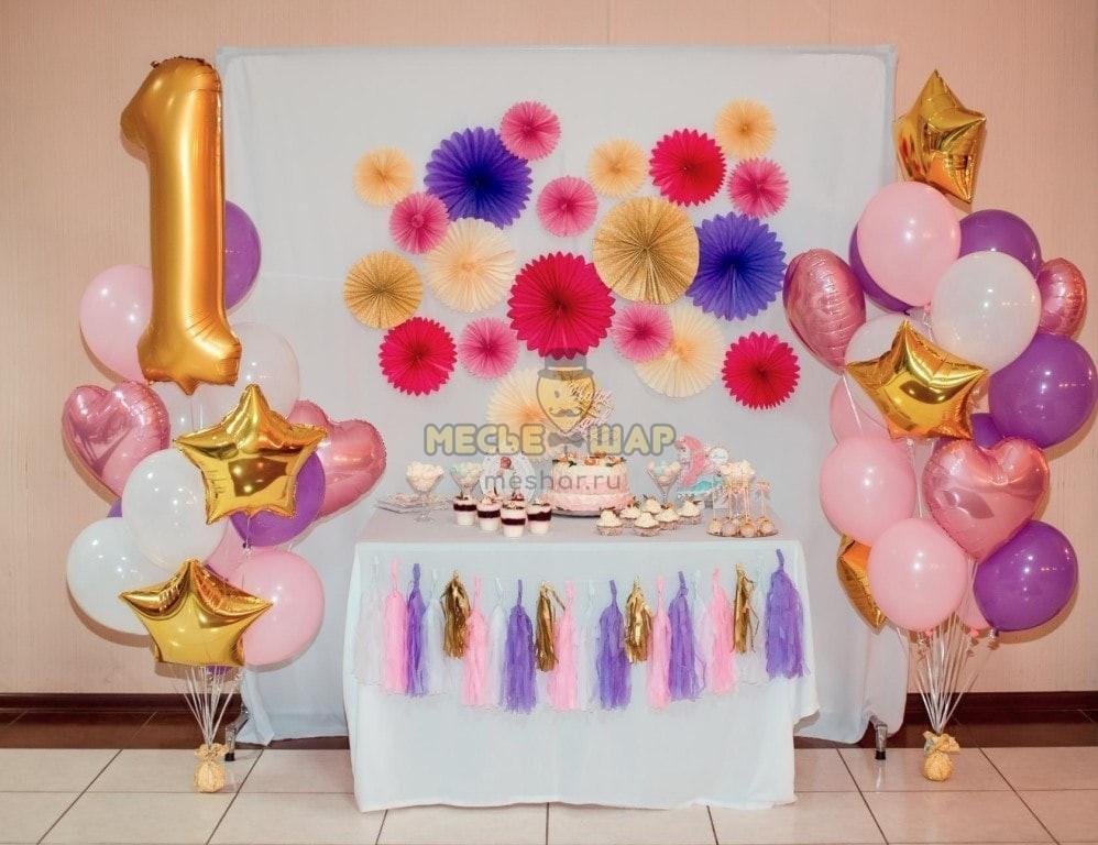 Набор #29 из шаров на детский День рождения