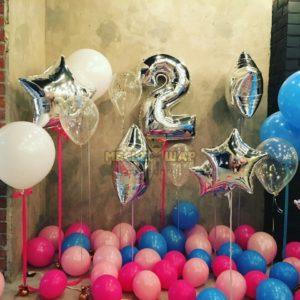 Набор #37 из шаров на детский День рождения