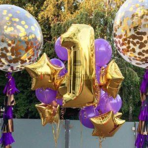 Набор #39 из шаров на детский День рождения