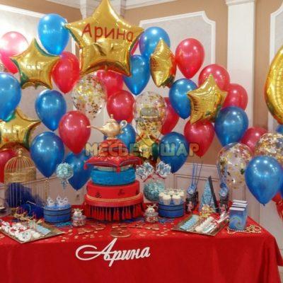 Набор #40 из шаров на детский День рождения