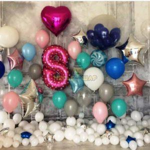 Набор #41 из шаров на детский День рождения