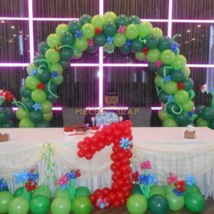 Набор #45 из шаров на детский День рождения