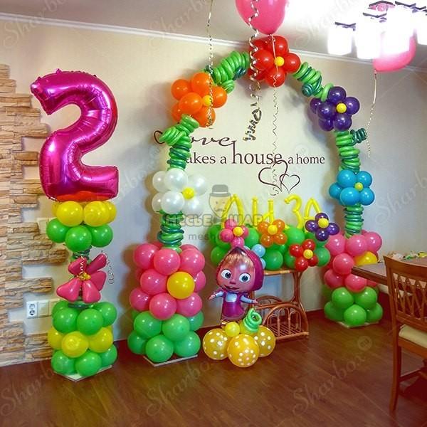 Набор #50 из шаров на детский День рождения