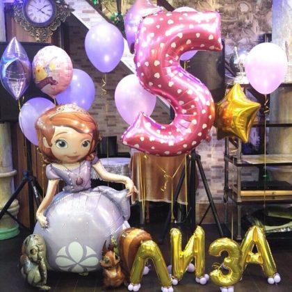 Набор #67 из шаров на детский День рождения