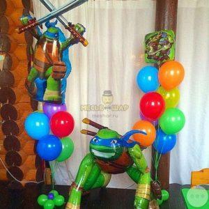 Набор Черепашки из шаров детям