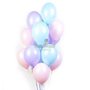 Нежные (30шт) - облако из шаров