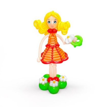 Принцесса из шаров детям