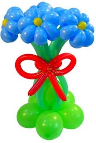 Букет ромашки из шаров