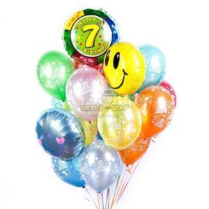 С Днем рождения - 30 шаров