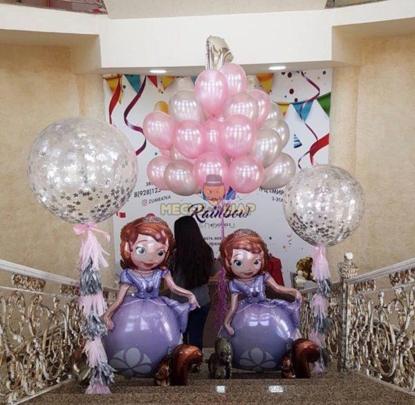 Набор Счастье принцессы из шаров