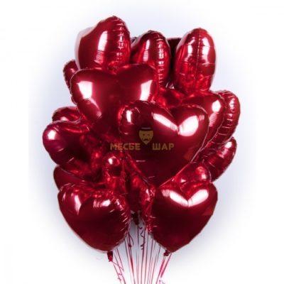 Сердечный набор из шаров