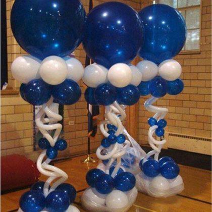 Стойка из воздушных шаров #3