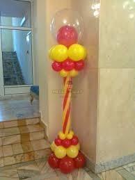 Стойка из воздушных шаров #5