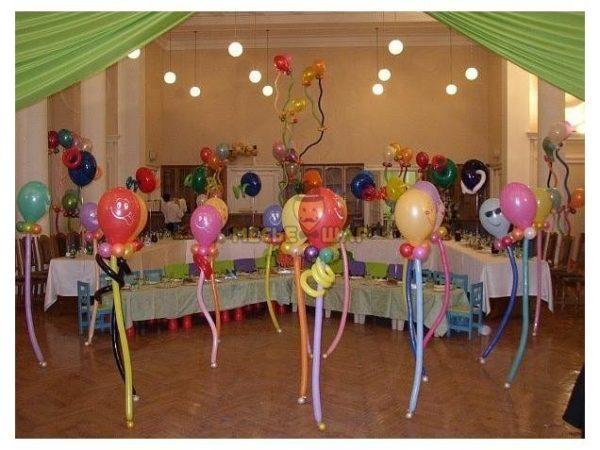 Танцоры из шариков детям