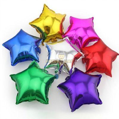 Звезда - воздушный шарик