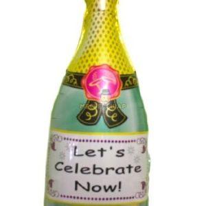 Фольгированное шампанское