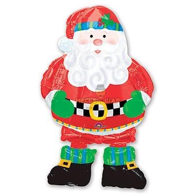 Ходячий Дед Мороз (100см)