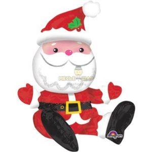 Сидячий Санта Клаус