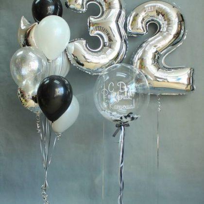 Брауни - набор из воздушных шариков