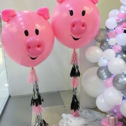 Хрюши из воздушных шаров