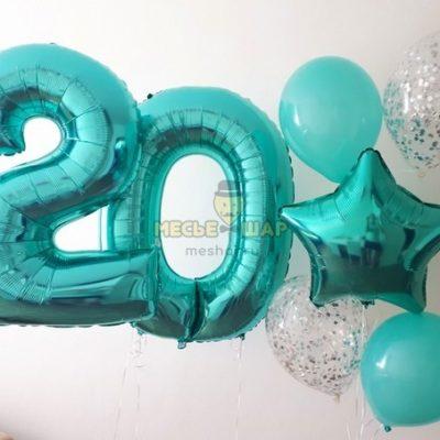 Воздушные шары Бирюза