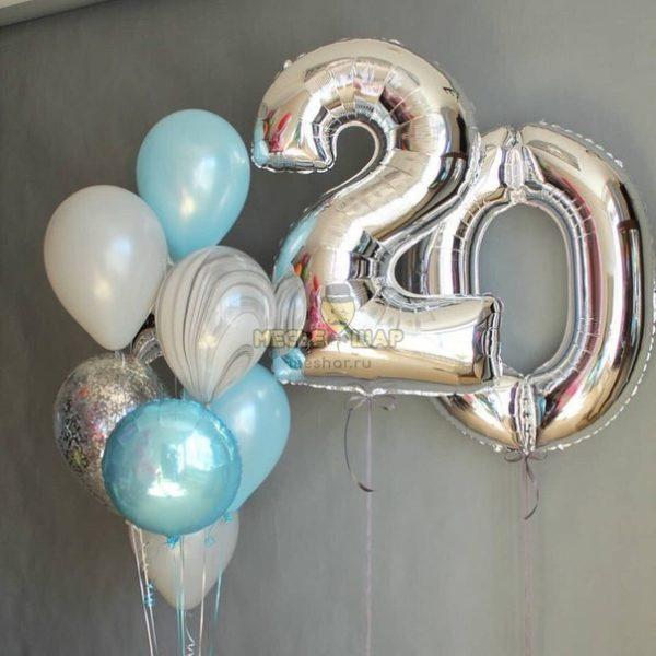 Капля Росы - набор из воздушных шариков