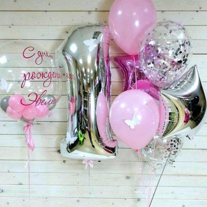 Милашка - набор из воздушных шаров