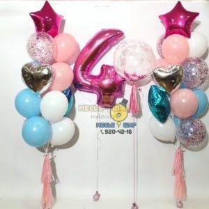 Чудная красота - набор из воздушных шаров